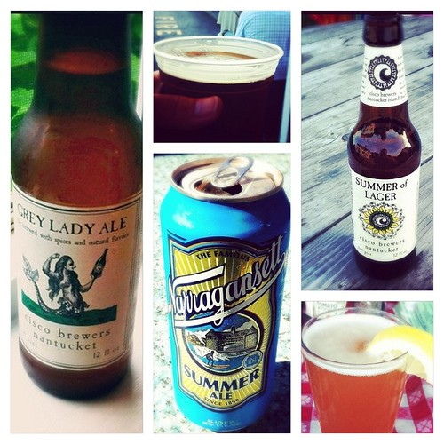 Vacation Beer Collage