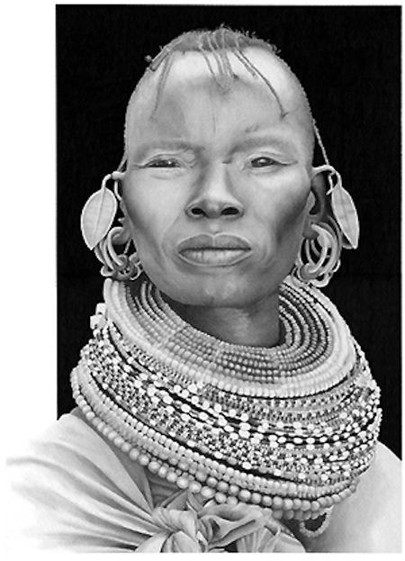 Turkana Woman by Michael C Gibson