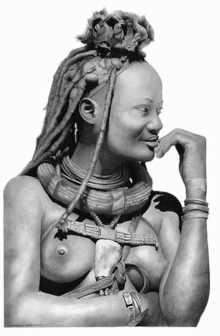 Himba by Michael C Gibson