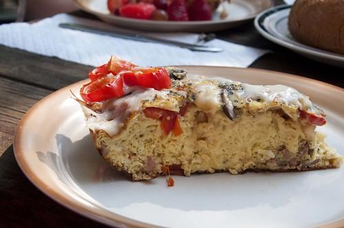 Pancetta Fritatta