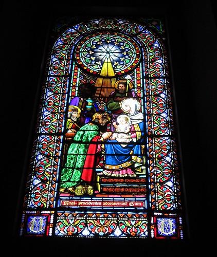 モンセラットの教会のステンドグラス by Poran111