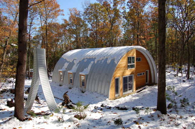 Quonset Hut Home Steelmaster Buildings Flickr