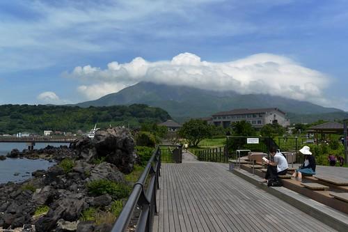 2012夏日大作戰 - 桜島 - 桜島ビジターセンターの近く (4)