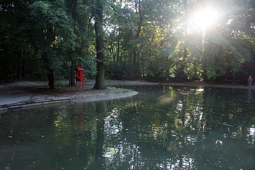 See - östlicher Hirschgarten