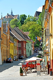 Romania-2201 - Bye to Sighisoara