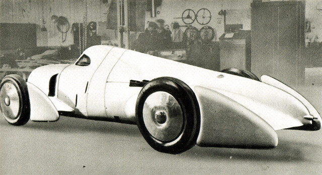 1935 Auto Union Rekordwagen Avus