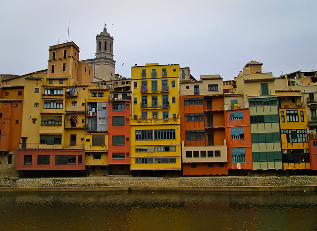 Girona Colored Houses Onyar