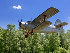 aviation, biplane, airplane, propeller driven aircraft, vehicle, light aircraft, antonov an-2, focke-wulf fw 190, flight, aircraft engine,