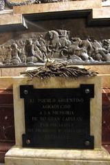 Buenos Aires - San Nicolás: Catedral Metropolitana de Buenos Aires - Mausoleo del General San Martín