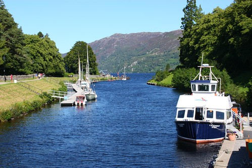 Fort Augustus canal to Loch Ness