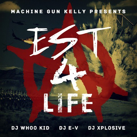 lace up mgk album cover  New Mixtape: Machine Gun Kelly