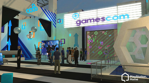 Gamescom 2012 in PlayStation Home