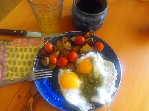 Desayuno inspirado por Maya