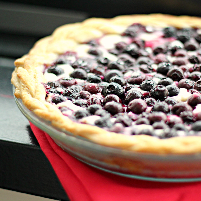 Blueberry Cream Cheese Pie | Joanne Eats Well With Others
