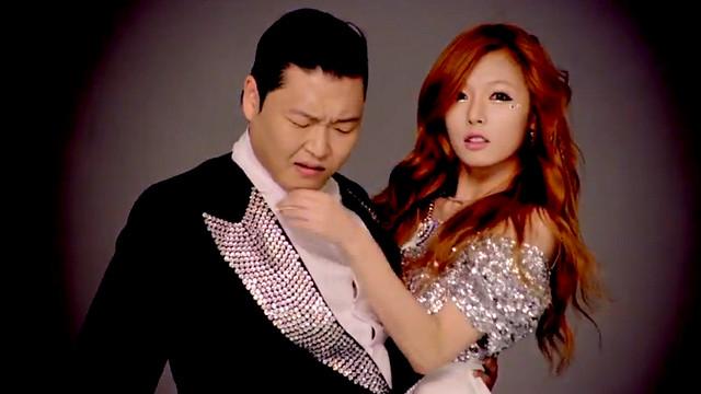 Hyuna Sexy PSY GANGNAM STYLE 강남스타일 Photo
