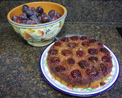 Fresh Fruit Upside Down Cake