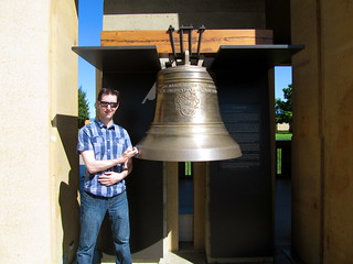 Devon ringing the bell