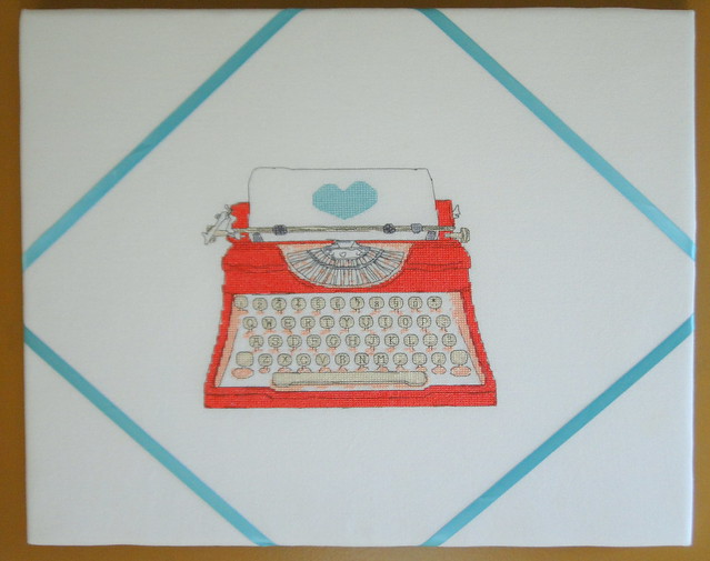 typewriter memo board