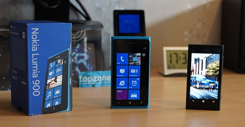 Nokia LUMIA 900 Windows Phone mobilusis telefonas