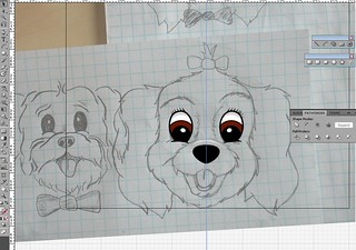 Tracing a dog in Illustrator