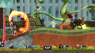 PlayStation All-Stars Battle Royale - Niveau LittleBigPlanet