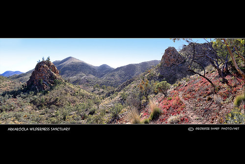 The Pinnacles at Arkaroola.