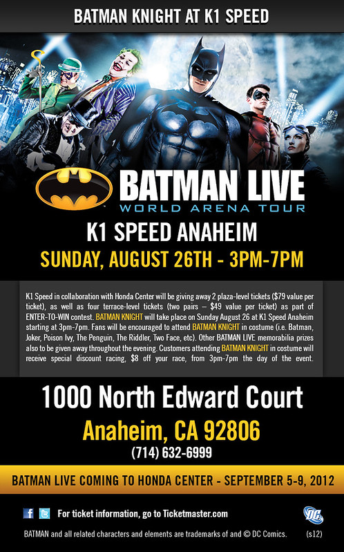 7832626456 e121fe8aca c BATMAN KNIGHT at K1 Speed Anaheim