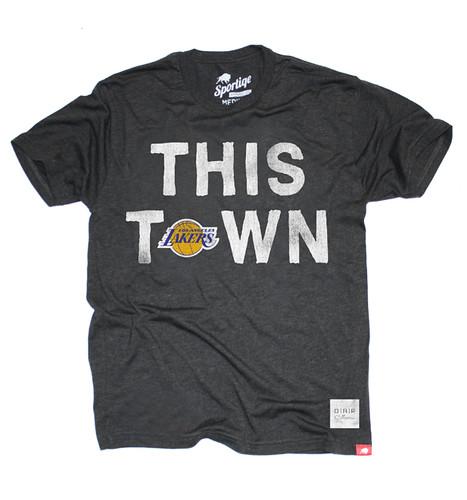 LA Lakers This Town Shirt