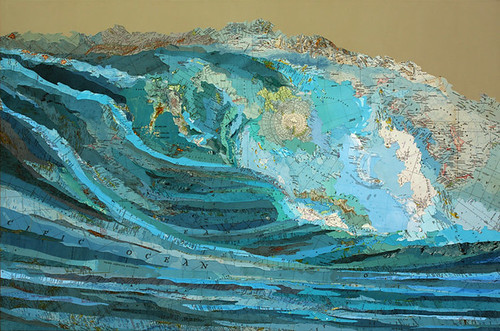 Matthew-Cusick_203, Kara's Wave, 2009
