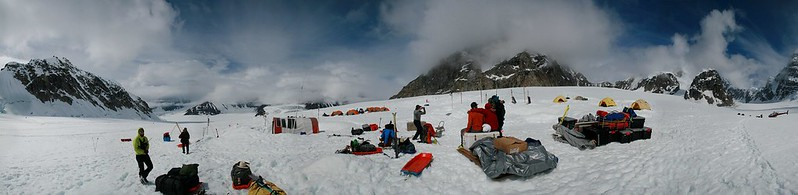 base camp on denali