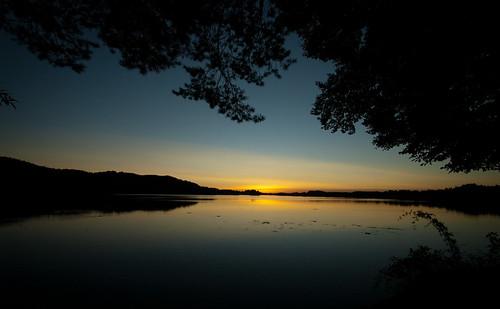 sunset lake bavaria seeham seehamersee weyarn