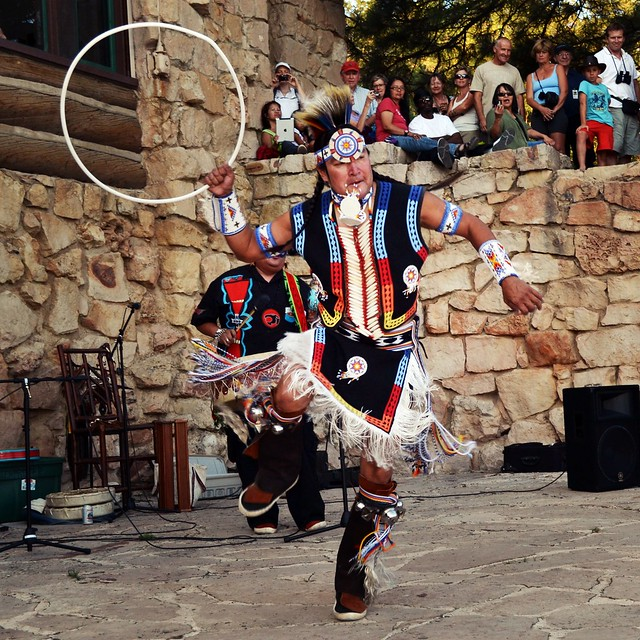 Hopi Indian Hoop Dancer