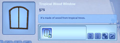 Tropical Wood Window