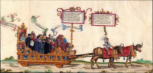 010-Triunfo del Emperador Maximiliano I…1700-Copyright Biblioteca Nacional de España