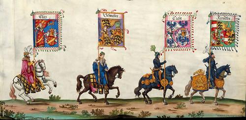 013-Triunfo del Emperador Maximiliano I…1700-Copyright Biblioteca Nacional de España