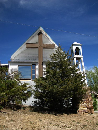 sky church architecture colorado belltower smalltown nucla