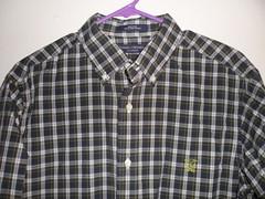 blouse(0.0), pattern(1.0), textile(1.0), clothing(1.0), collar(1.0), dress shirt(1.0), sleeve(1.0), outerwear(1.0), design(1.0), tartan(1.0), shirt(1.0), plaid(1.0),