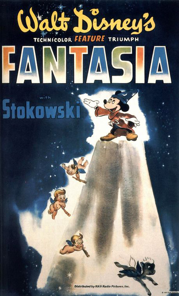 1940 Fantasia release poster!