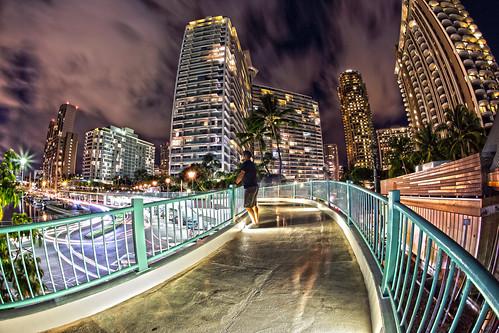 selfportrait canon eos hawaii waikiki fisheye 5d honolulu 15mm 30sec 100iso canonef15mmf28fisheye markpayton canon5dmkiii 5dmkiii missoulaphotographer markpaytonphotography