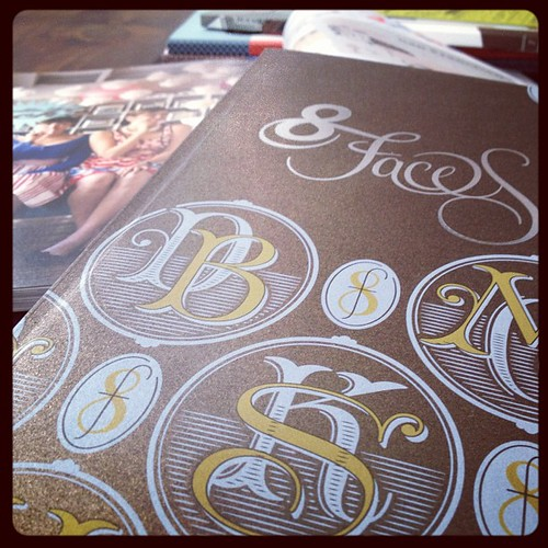 A few of my favorite things: @8Faces @AnthologyMag @UppercaseMag