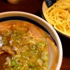 久々つけ麺。美味かった!ご馳走でした! at #大勝軒_十五夜 http://t.co/QhxHjtf2