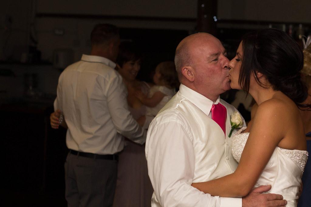 hot daughter dad kissing