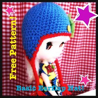 Basic Blythe Earflap Hat - Free Crochet Pattern!
