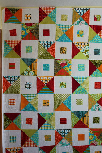 A Stitch in Color Quilt - Plan B