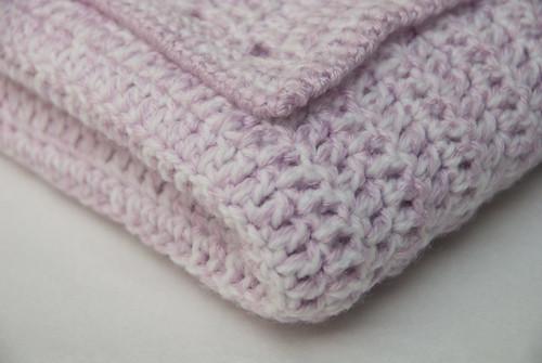 Easy Double Crochet Baby Blanket