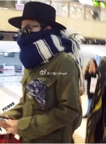 Big Bang - Gimpo Airport - 27feb2015 - G-Dragon - 小鬼儿Angel - 01