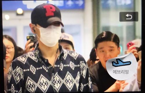 BIGBANG Arrival Seoul from Dalian 2016-06-26 (18)