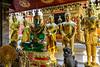 Doi Suthep, The Green Buddha in Meditation Pose