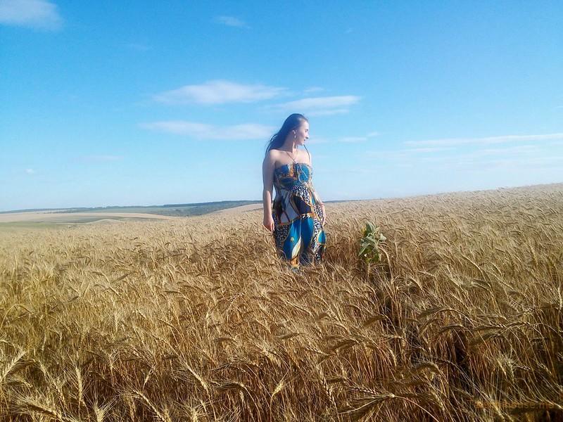 Ольга Якимчук_Пшеничное поле