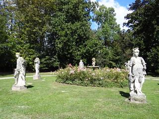 Villa Widmann képe. mira veneto september herfst 2016